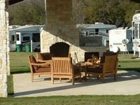 Sitting Area at Northlake Village RV Park